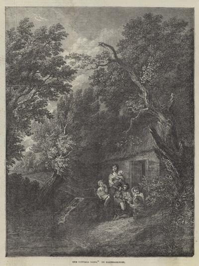 The Cottage Door-Thomas Gainsborough-Giclee Print
