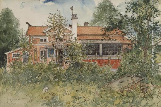 The Cottage, from 'A Home' Series, c.1895-Carl Larsson-Giclee Print