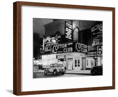 The Cotton Club in Harlem (New York) in 1938--Framed Photo