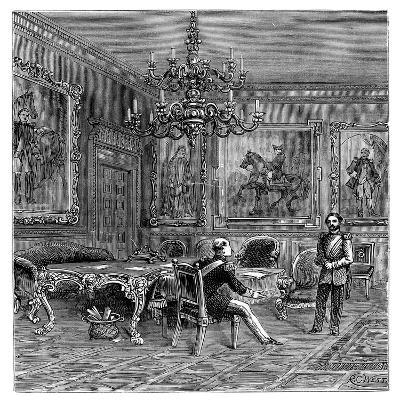The Council Chamber, St James's Palace, 1900--Giclee Print