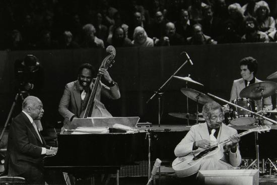 The Count Basie Orchestra in Concert at the Royal Festival Hall, London, 18 July 1980-Denis Williams-Photographic Print