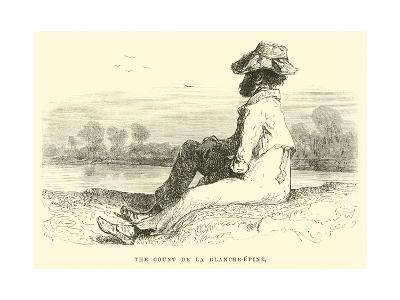 The Count De La Blanche-Epine-?douard Riou-Giclee Print