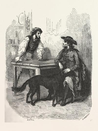 The Count of Monte Christo Alexandre Dumas--Giclee Print