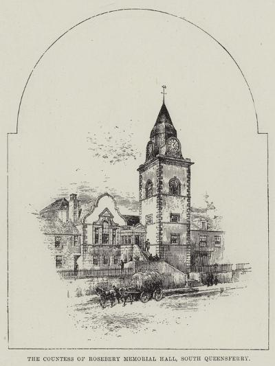 The Countess of Rosebery Memorial Hall, South Queensferry--Giclee Print
