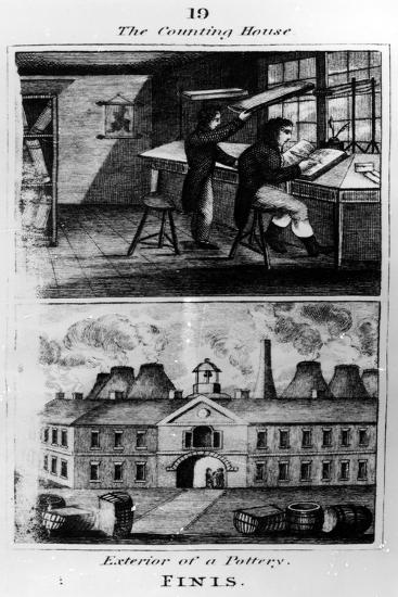 The Counting House, 1827--Giclee Print