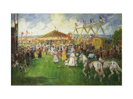 The Country Fair-Cecil Gordon Lawson-Giclee Print