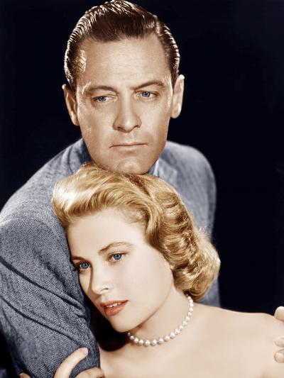 THE COUNTRY GIRL, from left: William Holden, Grace Kelly, 1954--Photo