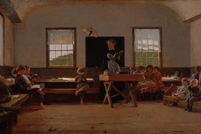 The Country School, 1871-Winslow Homer-Giclee Print