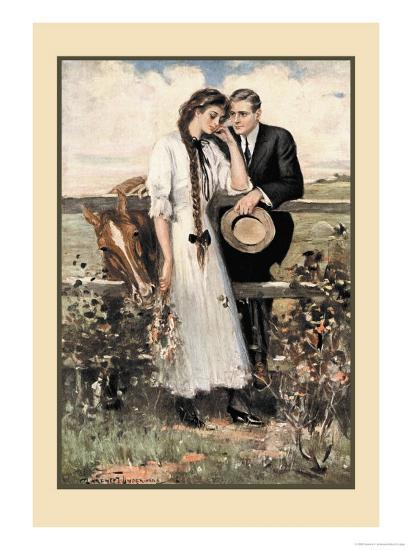 The Countryside-Clarence F^ Underwood-Art Print