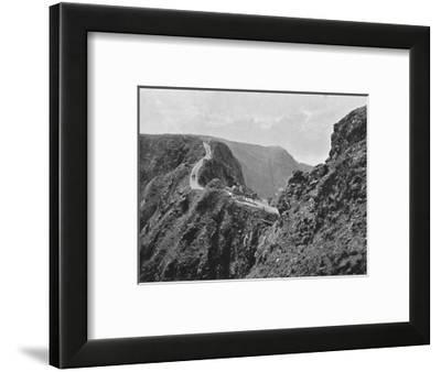 'The Coupee, Sark', c1896-Carl Norman-Framed Photographic Print