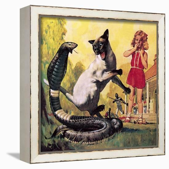 The Courageous Cat Giclee Print Mcconnell Art Com