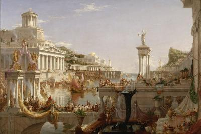 The Course of Empire: the Consummation of the Empire, C.1835-36-Thomas Cole-Giclee Print