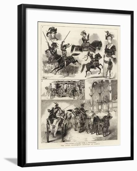 The Court Equestrian Festival at Vienna-John Charles Dollman-Framed Giclee Print