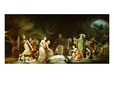 The Court of Death, 1820-Rembrandt Peale-Giclee Print