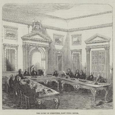 The Court of Directors, East India House--Giclee Print