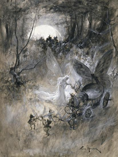 The Court of Faerie, 1906-Thomas Maybank-Giclee Print