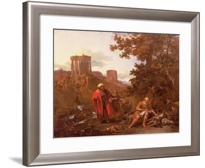 The Court of Love, C. 1380--Framed Giclee Print
