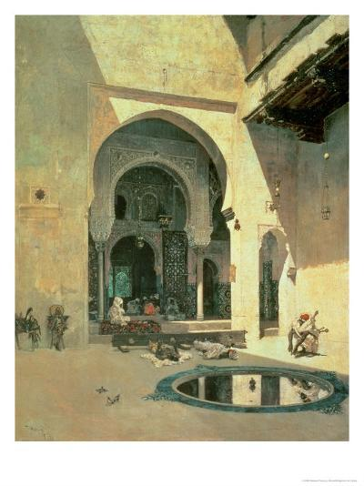 The Court of the Alhambra, 1871-Mariano Fortuny y Marsal-Giclee Print