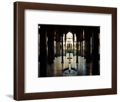 The Court of the Lions-Werner Forman-Framed Giclee Print