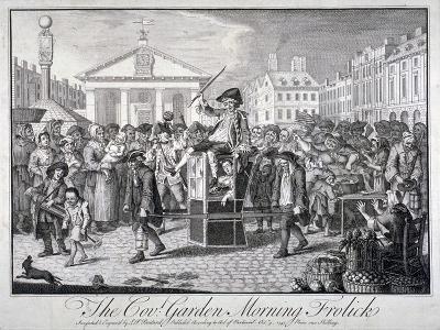 The Cov: Garden Morning Frolick, 1747-LP Boitard-Giclee Print