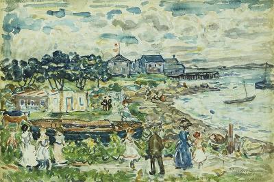 The Cove-Maurice Brazil Prendergast-Giclee Print