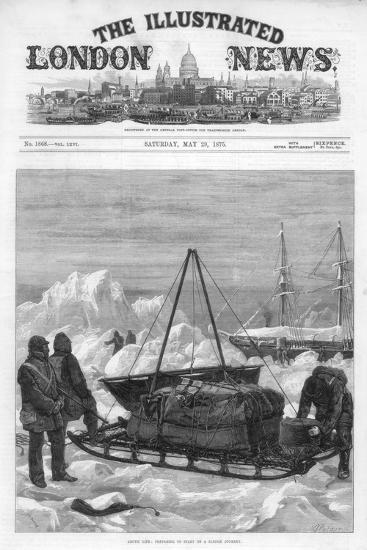 The Cover of the Illustrated London News, 29th May 1875-WJ Palmer-Giclee Print