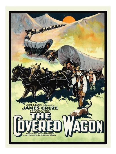 The Covered Wagon--Art Print