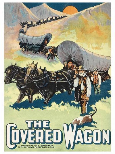 The Covered Wagon--Art Print