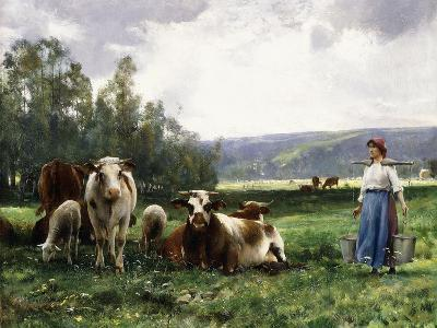 The Cow Pasture-Julien Dupre-Giclee Print