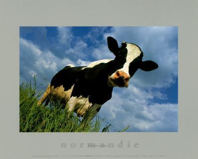 The Cow-Emmanuel Panais-Art Print