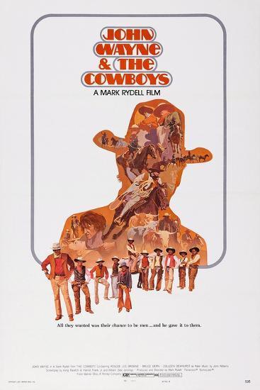 The Cowboys--Art Print