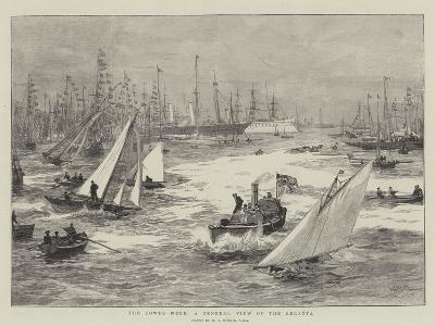 The Cowes Week, a General View of the Regatta-William Lionel Wyllie-Giclee Print