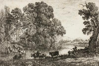 The Cowherd, 1636--Giclee Print