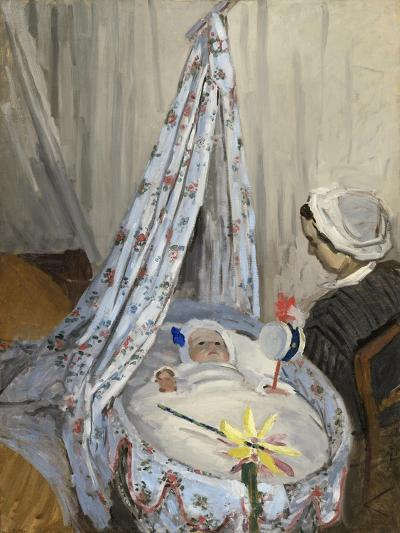 The Cradle, Camille with the Artist's Son Jean, 1867-Claude Monet-Giclee Print