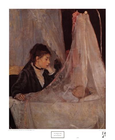 The Cradle-Berthe Morisot-Art Print
