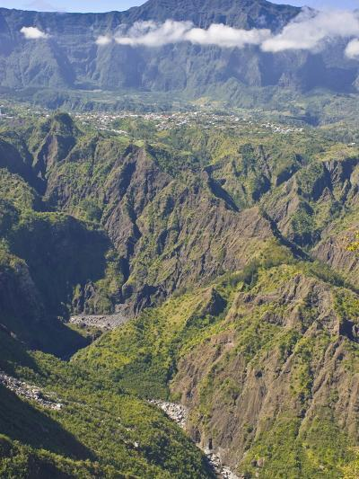 The Crater of Cilaos, La Reunion, Indian Ocean, Africa--Photographic Print