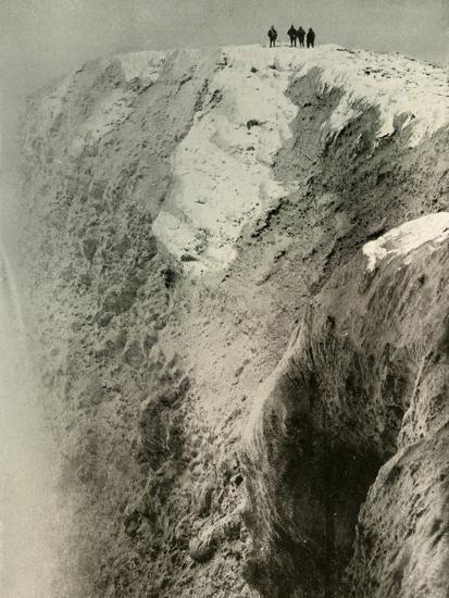 'The Crater of Erebus, 900 Feet Deep and Half A Mile Wide', 1908, (1909)-Unknown-Photographic Print