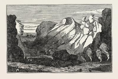 The Crater on the Peak of Teneriffe--Giclee Print