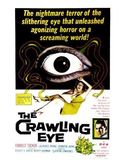 The Crawling Eye, 1958--Art Print