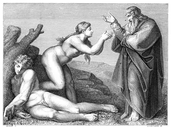 The Creation of Eve, 1899- Pennemaeker-Giclee Print