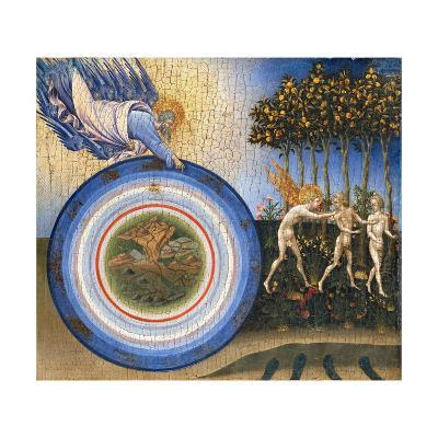 The Creation of the World and the Expulsion from Paradise-Giovanni di Paolo-Giclee Print