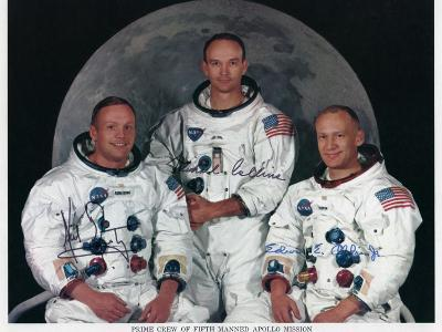 The Crew of Apollo 11, 1969--Giclee Print