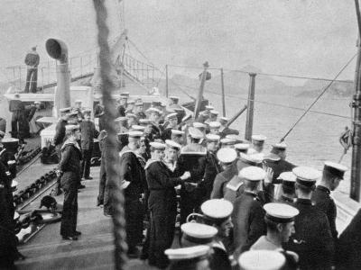 The Crew of the Royal Yacht Victoria and Albert III, Norway, 1904--Giclee Print