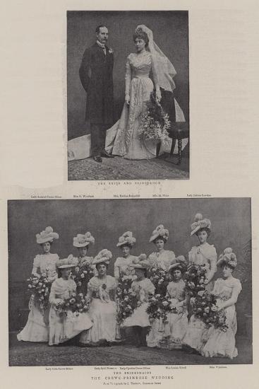 The Crewe-Primrose Wedding--Giclee Print