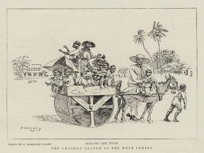 The Cricket Season in the West Indies--Giclee Print