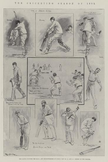 The Cricketing Season of 1901-Ralph Cleaver-Giclee Print