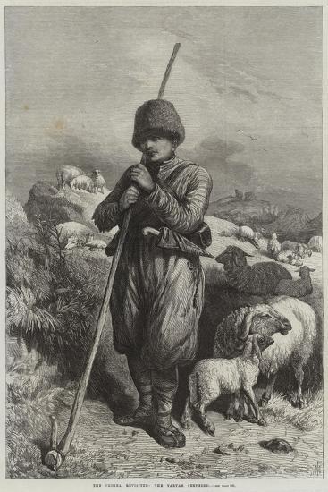 The Crimea Revisited, the Tartar Shepherd--Giclee Print