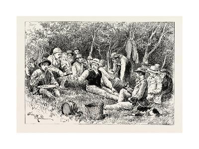 The Crimean War: the Siege of Sebastopol: Camp of the Siege Train (General Sir J. Burgoyne)--Giclee Print