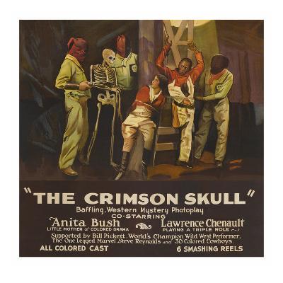 The Crimson Skull--Art Print