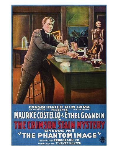 The Crimson Stain Mystery - 1916 II--Giclee Print